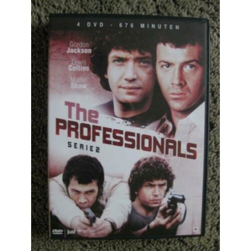 THE PROFESSIONALS - SERIE 2 uit 1979 in een 4 DVD BOX