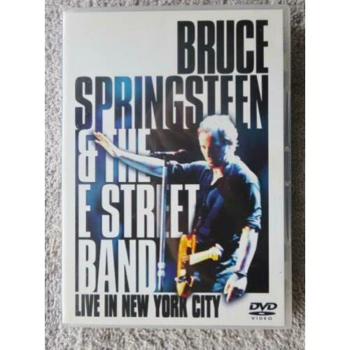 2 DVDs..Bruce Springsteen --- Live in New York City