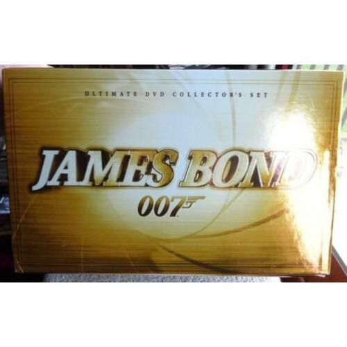 40 DVDs in box..James Bond --- 20 Titels (Zie foto,s)