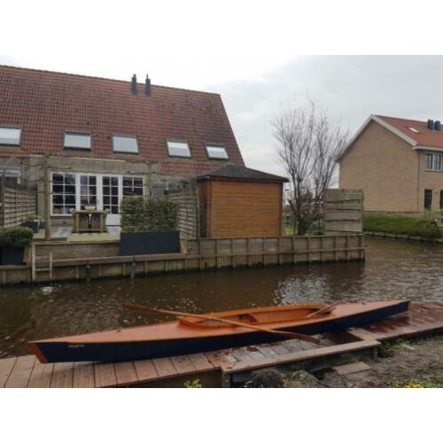Kajak, hout 2 persoons
