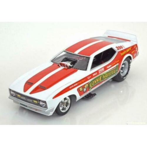 Ford mustang funny car connie kalitta modelauto 1:18